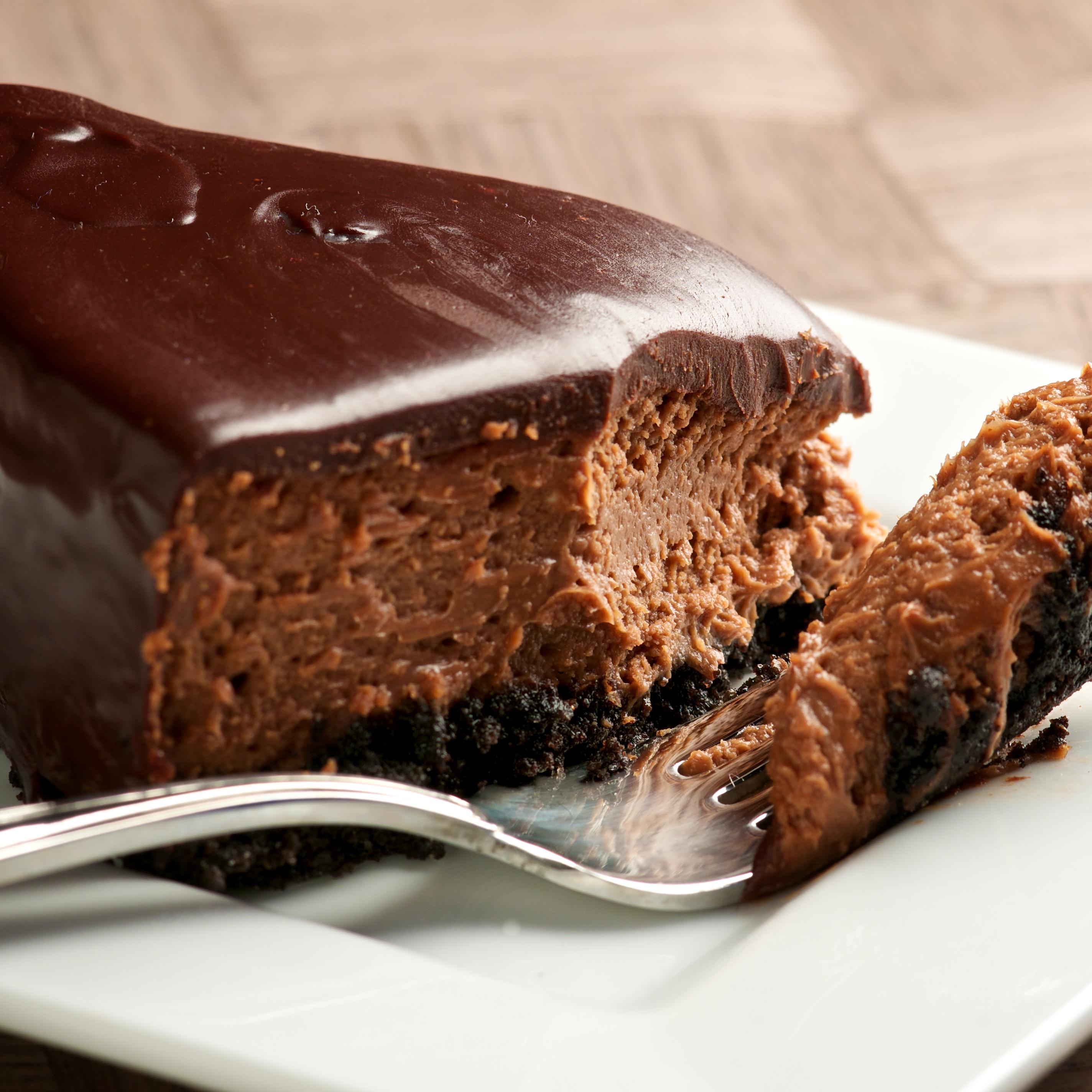 Recipe Baked Chocolate Fudge Cake